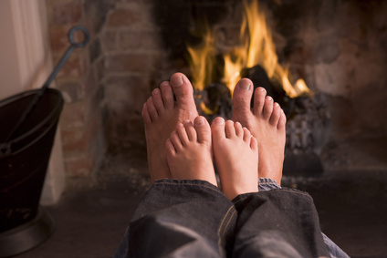 Put Another Log on the Fire - Home Safety