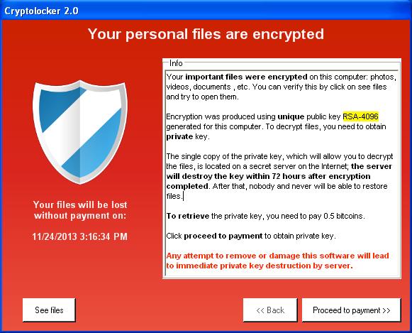 CryptoLocker – Tech Alert from Dean & Draper