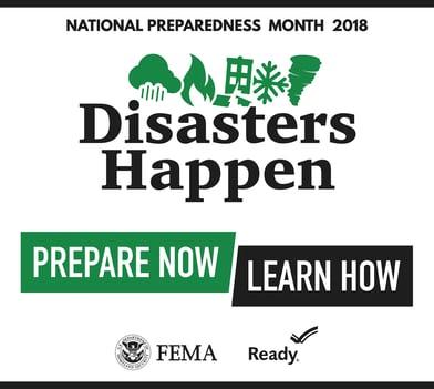 National Preparedness Monday 2018 logo