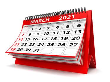 bigstock--d-Desktop-Calendar-March----407305097