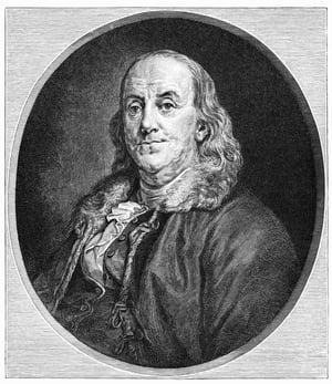 bigstock-Benjamin-Franklin--------25951724