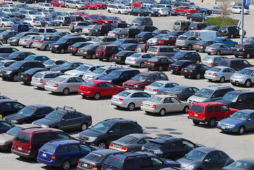 bigstock-Crowded-parking-lot-in-downtow-12089462