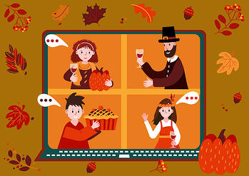 bigstock-Thanksgiving-Online-Party-Vir-392771456
