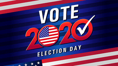 bigstock-Vote---In-Usa-Blue-Stripes-390413873