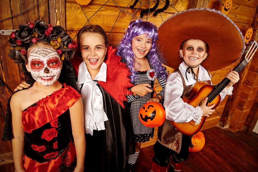 bigstock-Joyful-funny-kids-in-carnival--326812399
